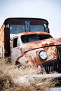 Abandoned truck Royalty Free Stock Photography