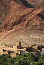 Abandoned village birkat al mawz sultanate of oman Royalty Free Stock Photos