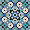 Abbas seamless pattern four Imagem de Stock Royalty Free