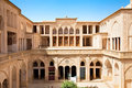 Abbasian historic  house , Kashan, Iran Stock Photo