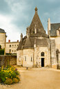 Abbaye de Fontevraud Stock Photo
