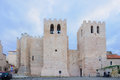 Abbaye st victor the in marseilles france Royalty Free Stock Photo