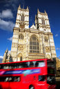 Abbey Cathedral in London, UK Stock Photography