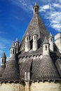 Abbey DE Fontevro Royalty-vrije Stock Fotografie