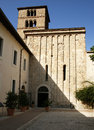 Abbey farfa benedictine of santa maria di Royalty Free Stock Photos