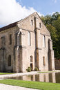 Abbey at Fontenay Stock Images