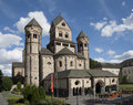 Abbey in germany the maria laach Royalty Free Stock Photography