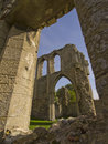 Abbey in ruin Royalty Free Stock Photos