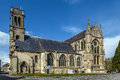 Abbey saint leger soissons france church of former Royalty Free Stock Photography
