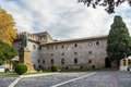 Abbey of santa maria in grottaferrata italy castelli romani Royalty Free Stock Photography