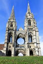Abbey of St-Jean-des Vignes, Soissons Stock Photography