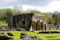 Abbey tilt and shift a photograph of haughmond in shropshire england Stock Image