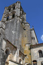 Abbey of vézelay tower st mary magdalene in Stock Photography