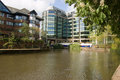 Abbey Wharf, Reading, Berkshire Stock Image