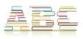 ABC Books Royalty Free Stock Photo