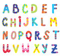 Abc for children funny design Stock Images