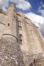 Abdij van mont saint michel normandy Royalty-vrije Stock Fotografie