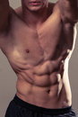 Abdominal Muscles Royalty Free Stock Image