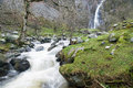 Aber Falls North Wales Royalty Free Stock Photo