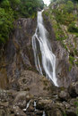 Aber Falls, Rhaeadr Fawr, Conwy, North Wales. Royalty Free Stock Photo