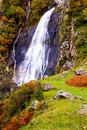 Aber waterfall wales uk Royalty Free Stock Photography