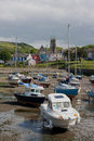 Aberaeron harbour Stock Images