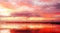 Aberdeen Beach Sun Rise Royalty Free Stock Photo