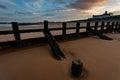 Aberdeen Beach Sunset Royalty Free Stock Photo