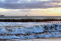Aberdeen Beach Royalty Free Stock Photo