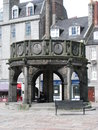 Aberdeen city centre of scotland Royalty Free Stock Images