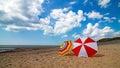 Aberdovey aberdyfi snowdonia wales vast beach bay coastal sandy holiday destination in uk Royalty Free Stock Photography