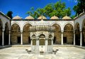 Ablution fountain in the courtyard of a mosque istanbul turkey Royalty Free Stock Photos