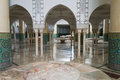 Ablution hall of the mosque of hassan ii in casablanca morocco Royalty Free Stock Photo