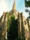 Abney park cemetery chapel stoke newington london victorian built by william hosking Royalty Free Stock Photos