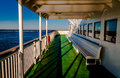 Aboard the cape may lewes ferry in the delaware bay between ne new jersey and Stock Photography