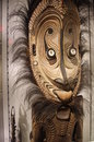 Aboriginal art display at museum of anthropology university british columbia in vancouver renowned for its displays world Royalty Free Stock Image