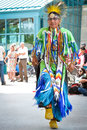 Aboriginal day live celebration In Winnipeg Royalty Free Stock Photo
