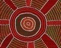 Aboriginal Meeting Place Royalty Free Stock Photo