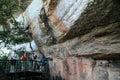Aboriginal Rock Art - Kakadu Park, Australia Royalty Free Stock Photo