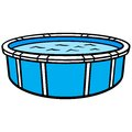 Above Ground Swimming Pool Royalty Free Stock Photo