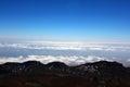 Above the heavens volcano teide tenerife canary islands Royalty Free Stock Photography
