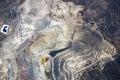 Abra a pit mining Imagen de archivo