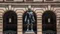Abraham lincoln statue cleveland Fotografia Stock Libera da Diritti