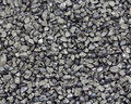 Abrasive grit macro photograph of steel Stock Photos