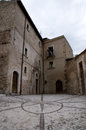 Abruzzo Town Scenics Royalty Free Stock Photo