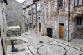 Abruzzo Town Scenics Royalty Free Stock Photography