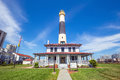 Absecon Lighthouse in Atlantic City Royalty Free Stock Photo