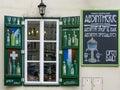 Absinth Shop in Prague Royalty Free Stock Photo