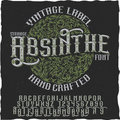 Absinthe Hand Crafted Poster