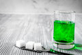Absinthe With Sugar Cubes And ...